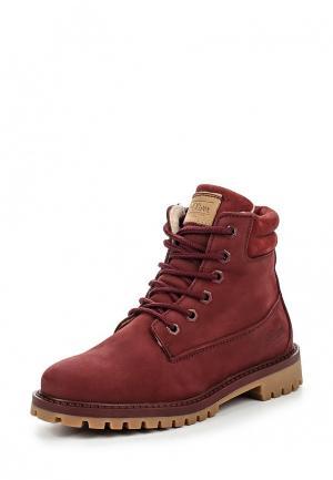 Ботинки s.Oliver. Цвет: бордовый