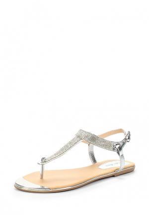 Сандалии Style Shoes. Цвет: серебряный