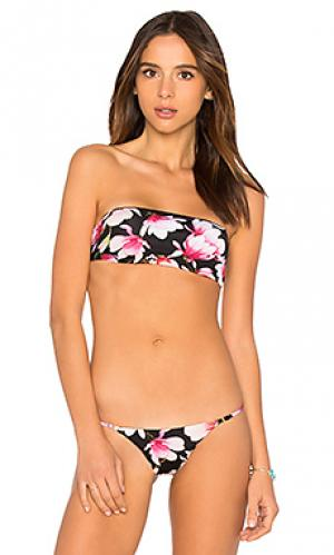 Топ joy Frankies Bikinis. Цвет: черный