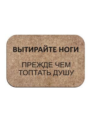 Коврик придверный Вытирайте ноги MoiKovrik t191