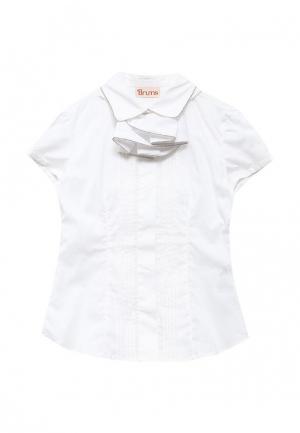 Блуза Brums. Цвет: белый
