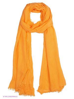 Палантин Oodji. Цвет: оранжевый