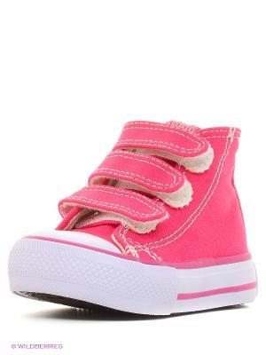 Кеды 4U. Цвет: розовый, коричневый