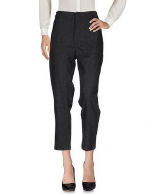 Повседневные брюки SONIA DE NISCO. Цвет: стальной серый