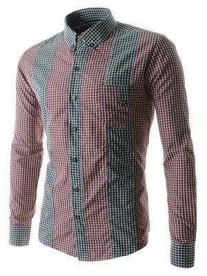 Рубашка VipDressCode. Цвет: красный