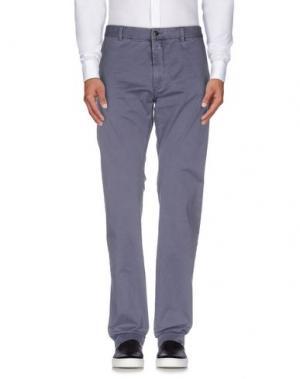 Повседневные брюки CLOSED. Цвет: грифельно-синий
