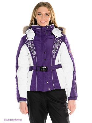 Куртка Sport Vision. Цвет: белый, фиолетовый