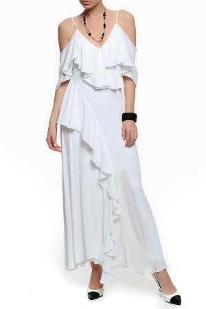 Платье XS MILANO. Цвет: белый