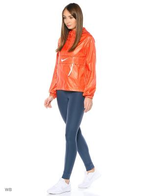 Ветровка W NSW JKT HD PACKABLE SWSH Nike. Цвет: оранжевый
