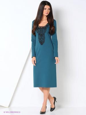 Платье с кружевом ADZHEDO