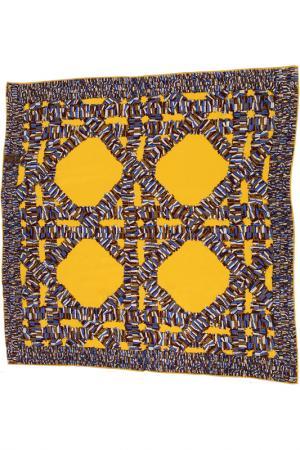 Платок F.FRANTELLI. Цвет: желтый