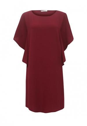 Платье Aurora Firenze. Цвет: бордовый