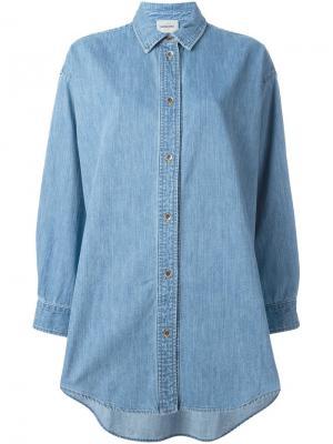 Рубашка Ivins Rachel Comey. Цвет: синий