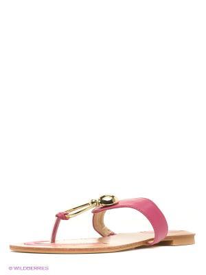 Пантолеты Vitacci. Цвет: розовый
