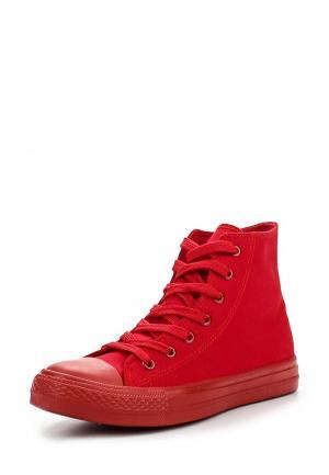 Кеды Fashion & Bella. Цвет: красный