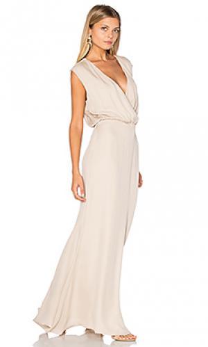 Вечернее платье venice Rory Beca. Цвет: беж