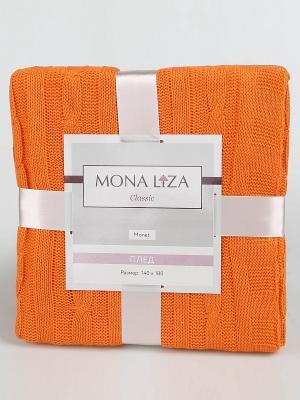 Плед Monet Mona Liza Classic оранж. Цвет: рыжий