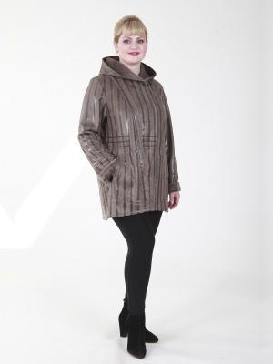 Куртка Валентина VIKO. Цвет: коричневый