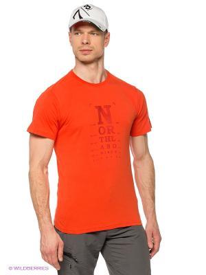 Футболка M VISTA T-SHIRT brick Northland Professional. Цвет: оранжевый