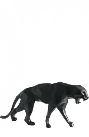 Статуэтка Richard Orlinski Panther Wild Daum. Цвет: бесцветный