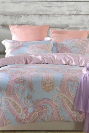 Постельное белье Дуэт 70x70 СIOCCOLATO. Цвет: голубой, розовый
