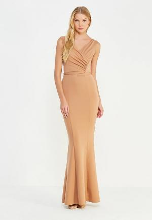 Платье City Goddess. Цвет: бежевый