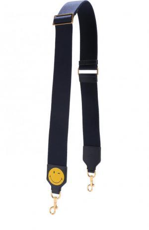 Ремень для сумки Anya Hindmarch. Цвет: темно-синий