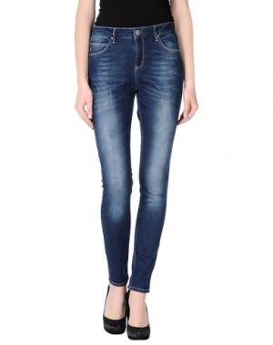 Джинсовые брюки 2ND DAY. Цвет: синий