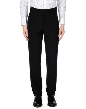Повседневные брюки GAZZARRINI. Цвет: черный