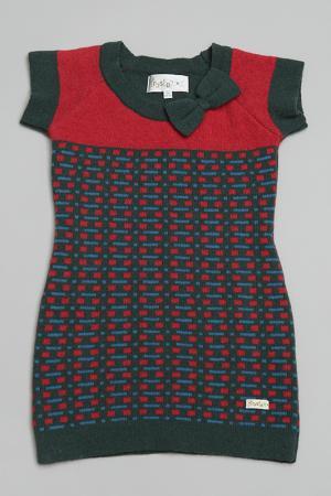 Платье Trasluz. Цвет: мультицвет