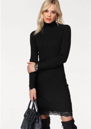 Платье MELROSE. Цвет: лиловый, черный
