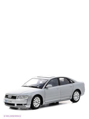 Машина 1к18 Audi A8 Motormax. Цвет: серебристый