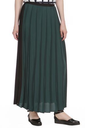 Юбка Liviana Conti. Цвет: черный,зелёный