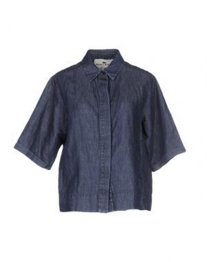 Джинсовая рубашка ADELE FADO QUEEN. Цвет: синий