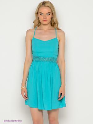 Платье New Look. Цвет: бирюзовый