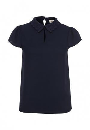Блуза Louche. Цвет: синий