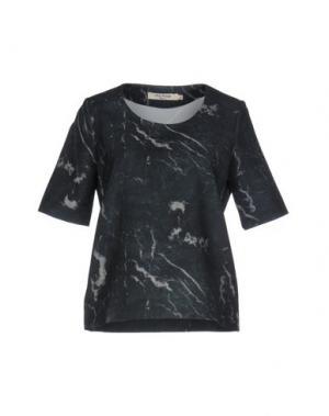 Блузка NICE THINGS by PALOMA S.. Цвет: стальной серый
