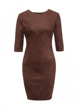 Платье Ad Lib. Цвет: коричневый