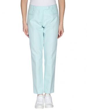 Повседневные брюки FABERGE&ROCHES. Цвет: небесно-голубой