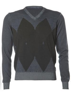 Пуловер Kangra. Цвет: черный, темно-синий