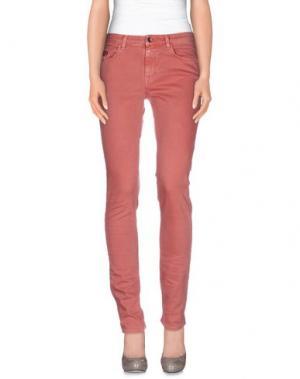 Джинсовые брюки UNLIMITED. Цвет: пастельно-розовый