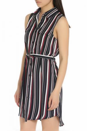 Повседневное яркое платье YUMI. Цвет: multi