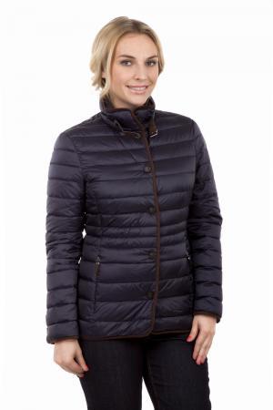 Куртка Basler. Цвет: синий