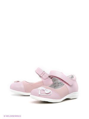 Туфли ТОПОТАМ. Цвет: розовый