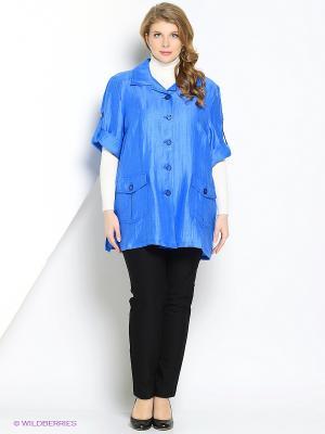 Куртка Mona Lisa. Цвет: голубой