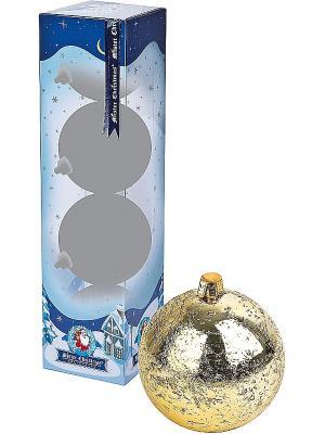 Елочная игрушка - 4 шт. Mister Christmas. Цвет: золотистый