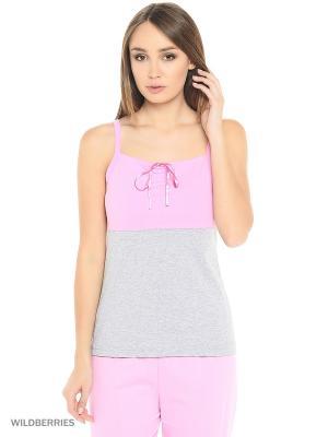 Комплект женский lawiggi. Цвет: розовый