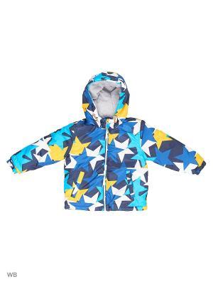 Куртка Modis. Цвет: синий, голубой, желтый, белый