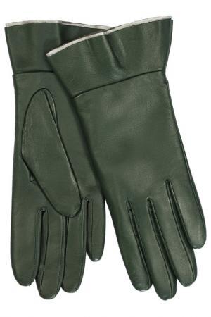 Перчатки Michel Katana. Цвет: еловый, темно-зеленый