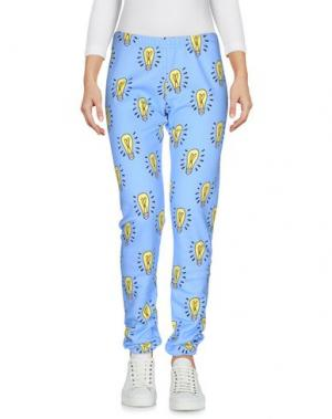 Повседневные брюки AU JOUR LE. Цвет: небесно-голубой